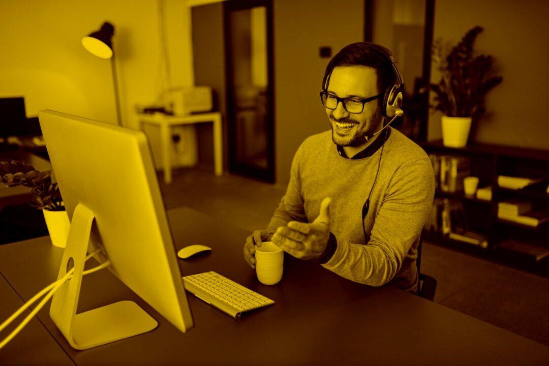 Online-Beratung Händler Kunde Portierplan